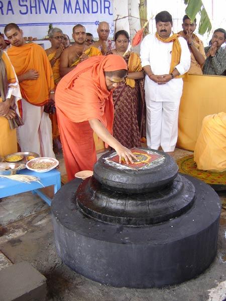 Avadhoota Datta Peetham | Sri Swamiji in Haridwar, Installation of