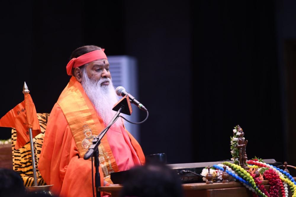 Avadhoota Datta Peetham   HH Sri Swamiji in Hyderabad
